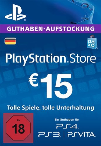 PSN 15 EUR / PlayStation Network Gift Card DE Store