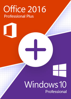Comprar Windows 10 Pro + Office 2016 Pro -Bundle