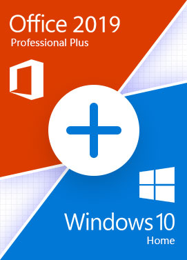 Windows 10 Home + Office 2019 Pro - Bundle