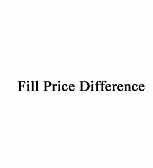 Buy Fill price difference
