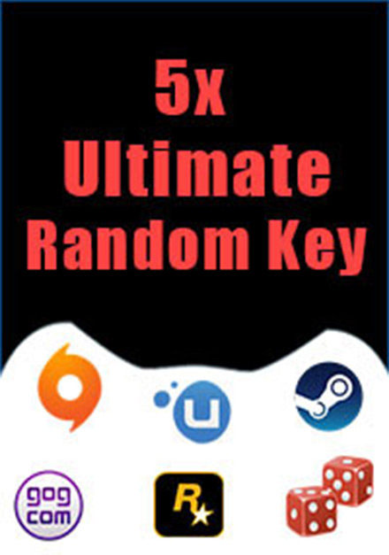 Buy 5 Ultimate Random Keys