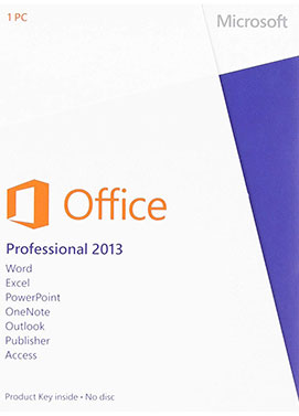 Microsoft Office Pro Professional Plus 2013 1PC/1User