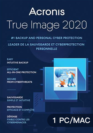 Acronis True Image 2020 - 1 PC MAC