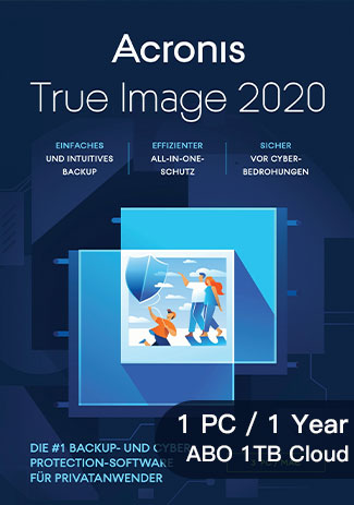 Buy Acronis TrueImage2020Advanced - 1 PC / 1Year (ABO1TBCloud)