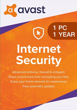 Buy Avast Internet Security - 1 PC / 1 Year