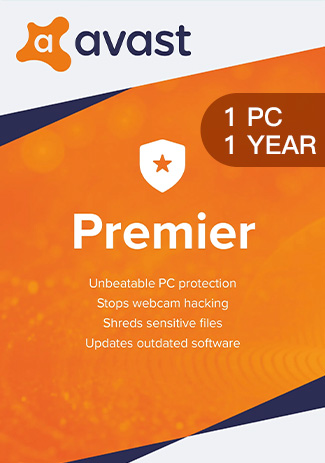 Avast Premier - 1 PC / 1 Year