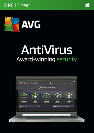 AVG Antivirus - 3 PC / 1 Year