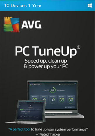 Buy AVG Tuneup- 10 Devices - 1 Year