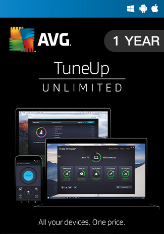 AVG Tuneup Unlimited 1 Year