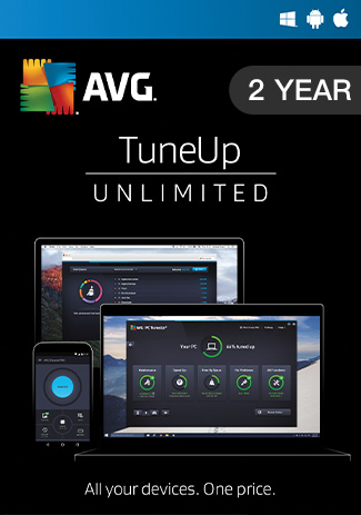 Buy AVG Tuneup Unlimited 2 Year