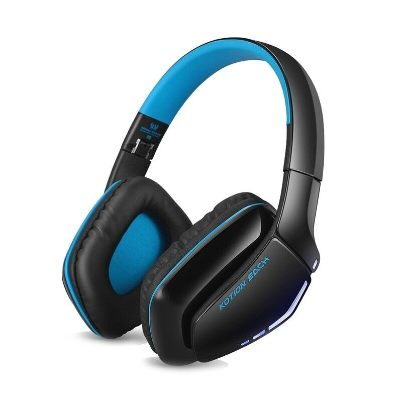 B3506 Bluetooth Gaming Headset Stereo Wireless Headphone (Blue)