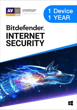 Bitdefender Internet Security - 1 Device - 1 Year (EU)