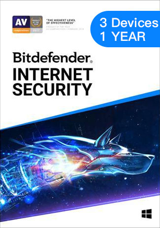 Bitdefender Total Security - 3 Devices - 1 Year (EU)
