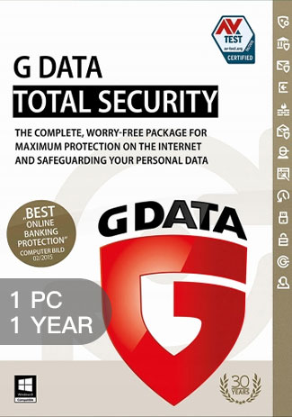 G Data Internet Security - 1 PC - 1 Year