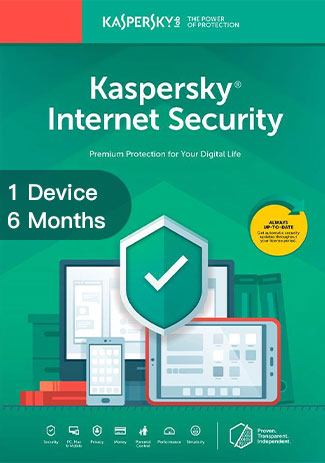 Buy Kaspersky Internet Security Multi Device - 1 Device - 6 Months