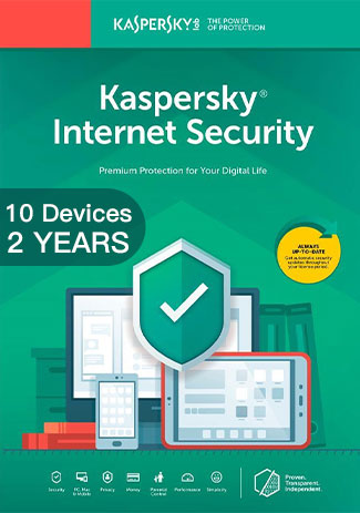 Kaspersky Internet Security Multi Device - 10 Devices - 2 Years