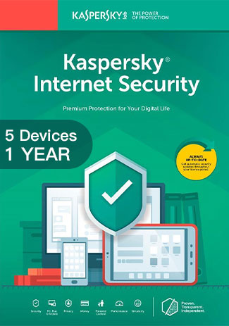 Kaspersky Internet Security Multi Device- 5 Devices - 1 Year