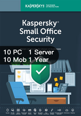 Kaspersky SMALL Office Security Version 6 10PC 10Mob 1Server / I Year