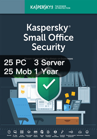 Kaspersky SMALL Office Security Version 6 25PC 25Mob 3Server / I Year