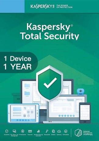 Kaspersky Total Security Multi Device - 1 Device - 1 Year