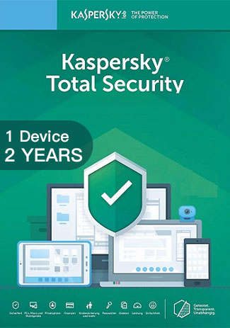 Kaspersky Total Security Multi Device - 1 Devices - 2 Years
