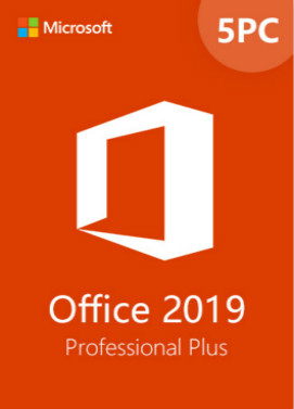 Buy Microsoft Office 2019 Professional Plus CD-KEY (5PC)
