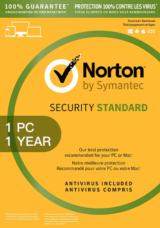Buy Norton Security Standard 3 - 1 Device - 1 Year