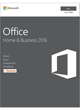 Microsoft Office for Mac 2016 Home & Business