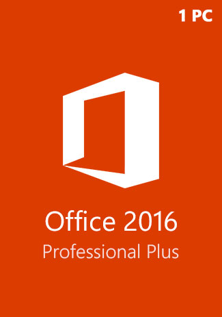Buy Microsoft Office 2016 Pro Professional Plus CD-KEY (1 PC)