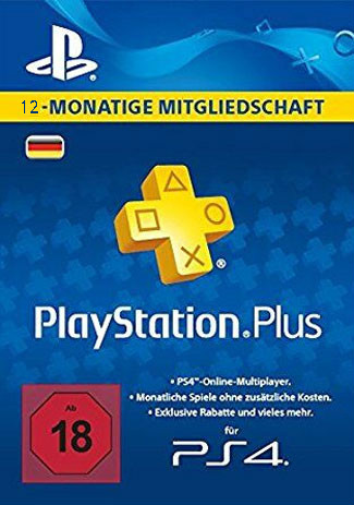 PSN Plus 365 Days / PlayStation Plus 12 Month DE Store
