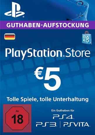 Comprar PSN 5 EUR / PlayStation Network Gift Card DE Store