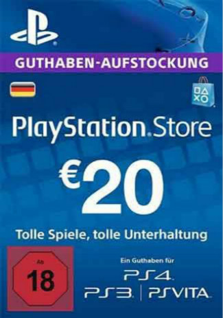 Buy PSN 20 EUR / PlayStation Network Gift Card DE Store