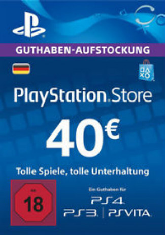 PlayStation Network Gift Card 40 EUR DE Store/PSN 40 EUR DE