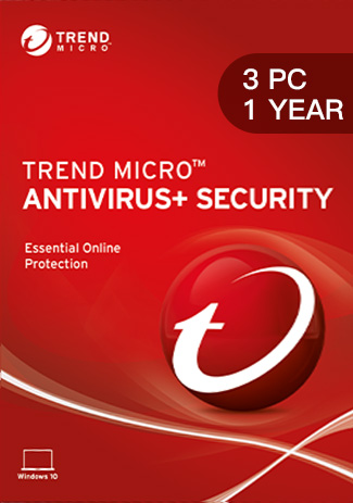 Trend Micro Antivirus Security - 3 PC / 1 Year