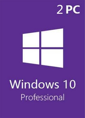 Acheter Windows 10 Pro Professional CD-KEY (32/64 Bit) (2 PC)