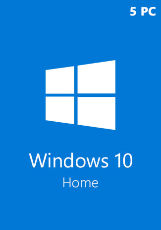 купить Windows 10 Home CD-KEY (32/64 Bit) (5 PC)
