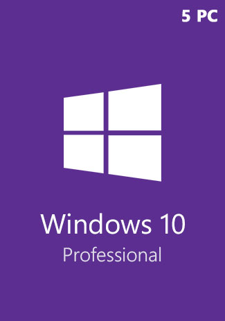 Comprar Windows 10 Pro Professional CD-KEY (32/64 Bit) (5 PC)