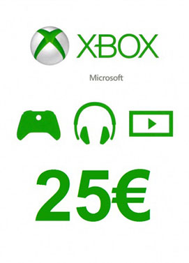 Buy Xbox Live 25 Euro Gift Card