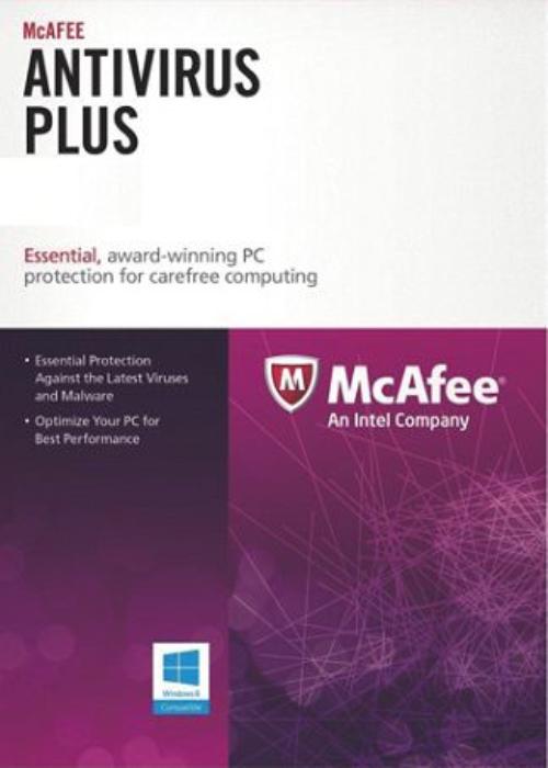Comprar McAfee Antivirus 1 PC 1 YEAR Global