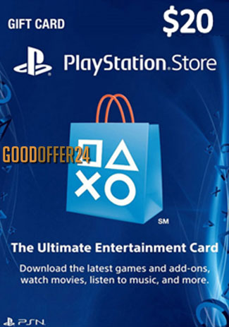 PSN 20 USD / PlayStation Network Gift Card US Store