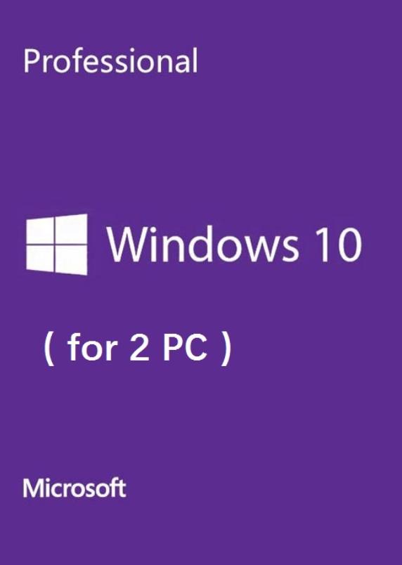 Buy Microsoft Windows 10 Pro OEM Scan CD Key Global(2 PC)