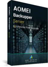 Acheter AOMEI Backupper Server Latest Version + Free Lifetime Upgrades Key Global