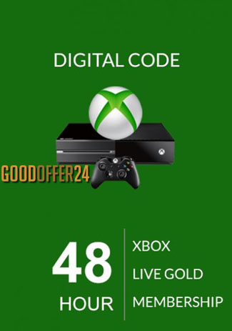 Xbox Live 48 HOUR Gold Membership (XBOX ONE/360)
