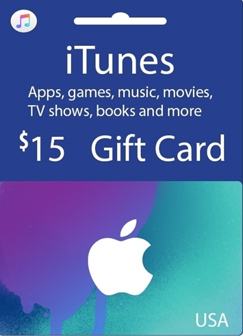 Buy Apple iTunes $15 Gutschein-Code US iPhone Store