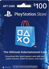 購買 PSN 100 USD / PlayStation Network Gift Card US Store