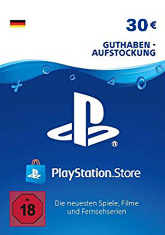 Buy PSN 30 EUR / PlayStation Network Gift Card DE Store