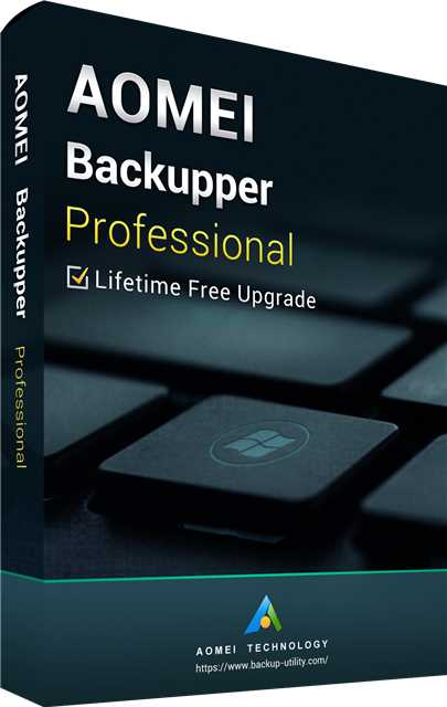 Buy AOMEI Backupper Professional + Free Lifetime Upgrades 5.7 Key Global