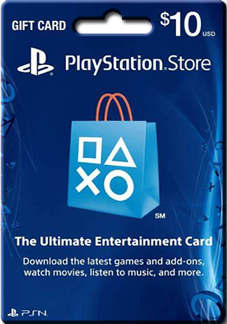 PSN 10 USD / PlayStation Network Gift Card US Store