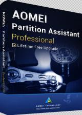 AOMEI Partition Assistant Professional + Free Lifetime Upgrades 8.6 Edition Key Global