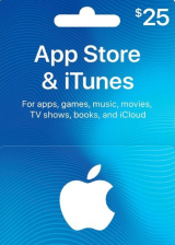Apple iTunes $25 Gutschein-Code US iPhone Store